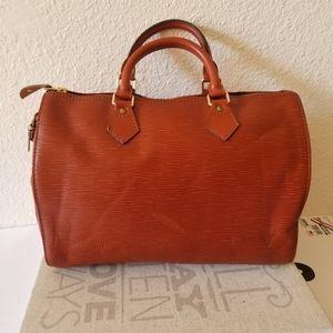Louis Vuitton Epi Speedy 30 Bag